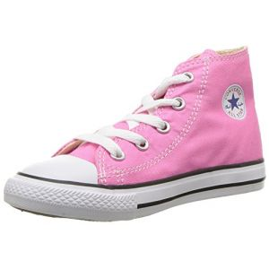 Converse Chuck Taylor All Star High, Baskets Hautes Mixte Enfant, Rose Pink, 30 EU
