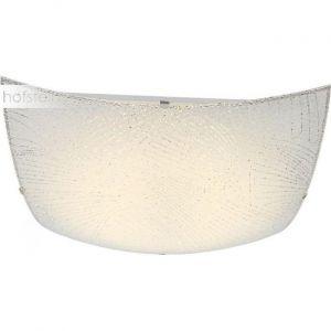 Globo Éclairage plafonnier DEL métal blanc luminaire plafond LED