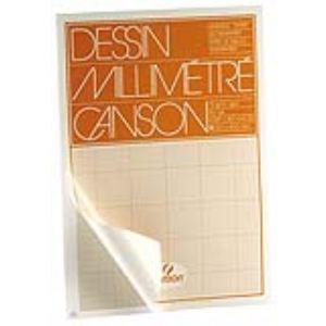Canson 67109 - 50 Feuilles de papier dessin 90 g (A3)