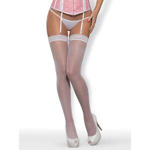Obsessive Bas S807 stockings white