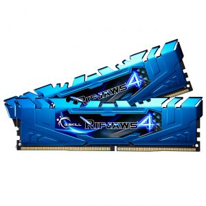 G.Skill F4-3200C16D-8GR - Barrette mémoire RipJaws 4 8 Go (2x 4 Go) DDR4 3200 MHz CL16 DIMM