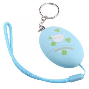 WeWoo Alarme sonore bleu pour la fille et les enfants, 120Db personnelle de mini coffre-fort de football avec l Anti-Rape