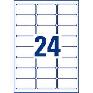 Avery-Zweckform Avery Etiquettes pour timbres à imprimer 63.5 x 33.9 mm x 240