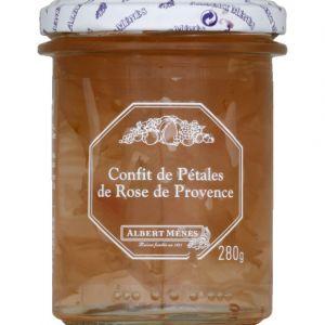 Albert ménès Confit de pétales de rose de Provence - Le pot de 280g
