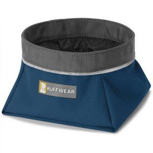 Ruffwear Gamelle de voyage pour chien Quencher Blue Moon Taille : S