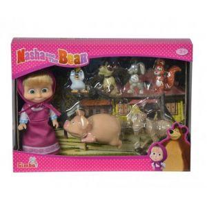 Smoby Masha et ses petits animaux