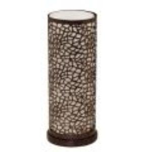 Eglo Lampe à poser Almera en acier et verre (29,5 cm) 60 W