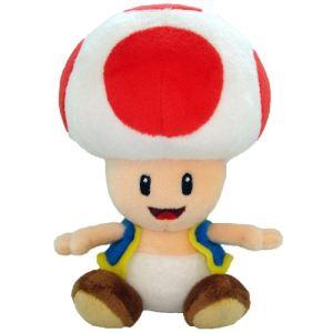 Sanei Peluche Super Mario : Toad 17 cm
