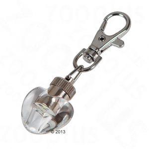 Kerbl Pendentif lumineux Maxi Safe en forme de c%u0153ur pour chien