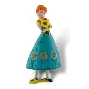 Bullyland Figurine Anna La Reine Des Neiges Une Fête Givrée 10 cm