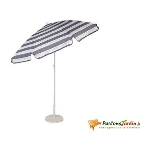 Jardin prive Cancale - Parasol rectangle 200 x 140 cm