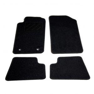 VidaXL Ensemble de tapis de voiture 4 pcs pour Peugeot 206 CC
