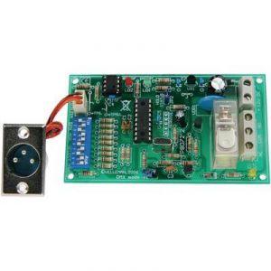 Velleman VM138 - Carte relais à pilotage DMX kit monté alimentation 12 V/DC