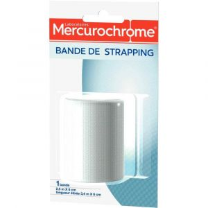 Mercurochrome Bande strapping