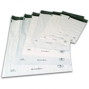 Enveloppebulle Lot de 10 Enveloppes plastiques blanches opaques 175x255 mm