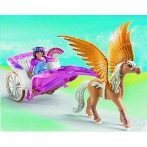 Playmobil 5143 - Carrosse avec cheval ailé