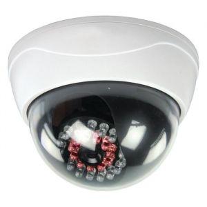 König Dôme de caméra factice d extérieur à diode infrarouge