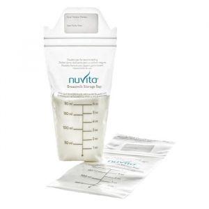 Nuvita Sacs de stockage de lait maternel