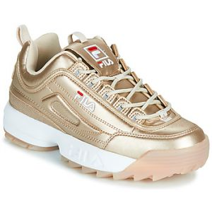 FILA Baskets basses DISRUPTOR M LOW WMN Doré - Taille 36,37,38,39,40,41