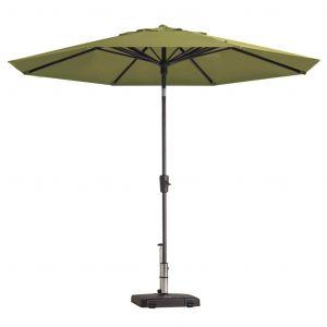Madison Parasol Paros Rond 300 cm Vert sage