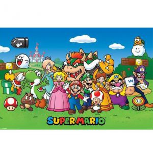 Pyramid International Poster Super Mario Characters (61 x 91 cm)