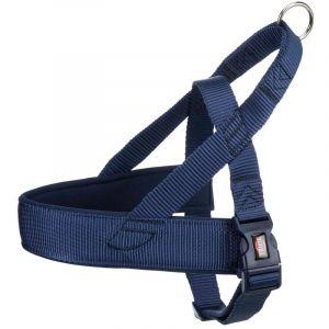 Trixie Premium comfort harnais - L-XL: 68-88 cm/50 mm, indigo