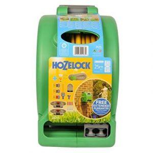 """Hozelock Compact Reel / 06424150 Enrouleur 2 En 1 Avec Tuyau 25 M / 1,3 Cm (1/2"""")"""
