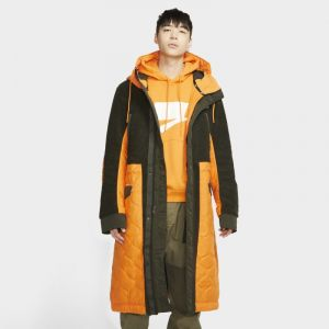 Image de Nike Parka à garnissage synthétique Sportswear Sport Pack pour Homme - Orange - Taille S - Male