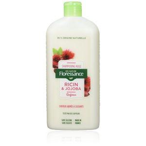 Floressance Shampooing huile Ricin & Jojoba - cheveux abîmés à cassants