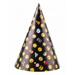 8 chapeaux de fête Smiley Emoticons