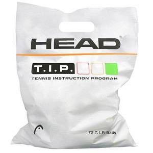 Head Sachet de 72 Balles T.I.P. Green