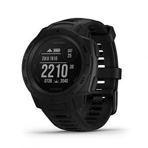 Garmin Montre GPS multisports Instinct Tactical - Noir