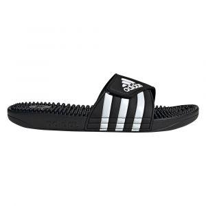 Adidas Adissage, Chaussures de Plage & Piscine mixte adulte - Noir (Negro 000), 47 EU (12 UK)