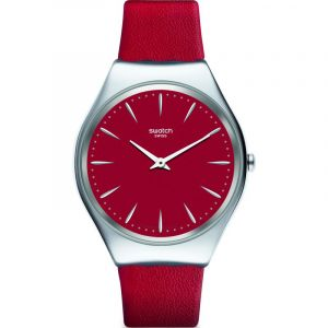 Swatch Montre Femme, homme Skin Irony Rouge