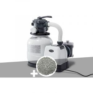 Intex Groupe de filtration à sable 6 m³/h + 20 kg de zéolite