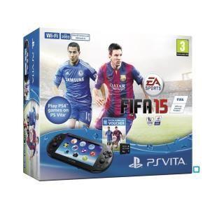 Sony Playstation Vita 2000 + FIFA 15 (voucher) + Carte Mémoire 4 Go