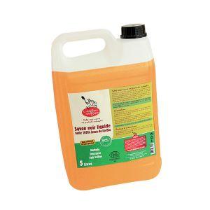 La droguerie écologique Savon noir liquide 100% lin bio - 5L