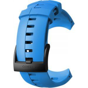 Suunto Bracelet de Remplacement Original pour Toutes les Montres Sparten Sport Wrist HR, Silicone, Longueur: 24,5 cm, Largeur: 25 mm, Bleu/Noir, Cheville de Montage Incluse, SS022932000