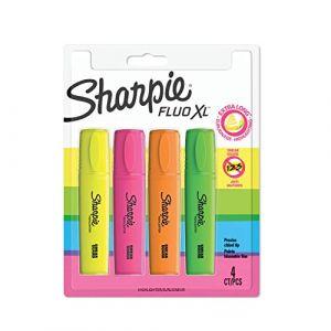 Image de Sharpie Surligneur HIGHLIGHTER FLUO XL, blister de 4 - Lot de 3