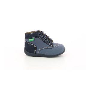 Kickers Boots enfant Bonbon-2 bleu - Taille 18,19,20,21,22,23,24
