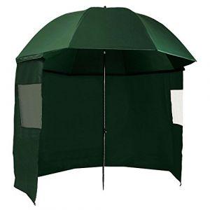CampFeuer Parapluie de pêche 240 cm avec paroi latérale et piquets, AS1