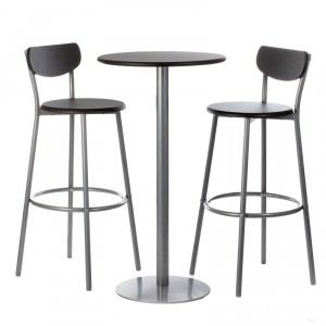 Thabo - Ensemble table et chaises de bar