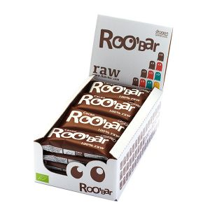 Roo'bar Raw Energy Bar Cacao And Cashew 50 G X 16