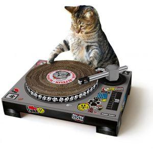 Manta design Grattoir pour chat Platine DJ
