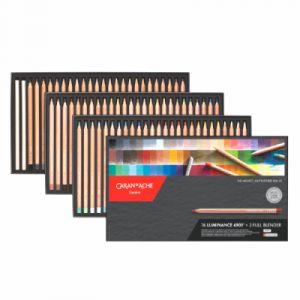 Caran d'Ache Crayons De Couleur Luminance 6901 (boîte De 76)