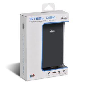 Advance BX-202U3 - Boîtier externe Steel Disk pour Disque dur SATA USB 3.0