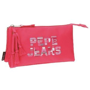 Pepe Jeans Trousse 3 compartiments Samantha Rose