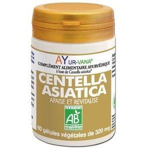 Ayur-Vana Centella Asiatica bio - 60 gélules végétales