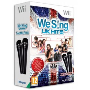 We Sing UK Hits - Le jeu + 2 Microphones [Wii]