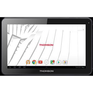 "Thomson TEO10-RK1BK8 Tablette tactile 10,1"" Noir (8 Go, 1 Go de RAM, Android 7.0, USB, Bluetooth, Wi-Fi)"